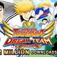 KLab、『キャプテン翼 ~たたかえドリームチーム~』のグローバル版がわずか2週間で200万DL突破!