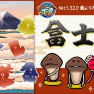 ビーワークス、『なめこ栽培キット ザ・ワールド』で新しいよりみち調査地「富士山」を追加!