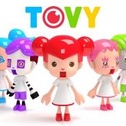 日本テレビとHAROiD、デジタルトイサービス『TOVY』をスタート スマホやPCを通して自分の分身がテレビの企画に参加できる