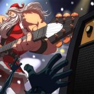 チリのBekho Team Game Development、『Santa Rockstar Tournament Ed.』日本語版を配信! ガチムチサンタが登場するリズムゲーム