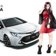 トヨタ14車種が美少女キャラクターに擬人化!? バンタンがトヨタカローラ大阪と産学協同プロジェクトの一環で制作