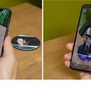 NTTぷらら、バーチャル3Dフィギュアが楽しめるアプリ「ひかりTV-VF」で放送中のアニメ「進撃の巨人」のAR映像を12月4日より配信