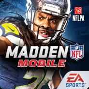 【米Google Playランキング(1/31)】Electronic Artsのアメリカンフットボール題材のスポーツゲーム『Madden NFL Mobile』が自己最高の8位に