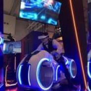VR Center、未来型のバイク筐体に乗る『Photon Racer』とドッジボールゲー『Smash box Arena』が登場