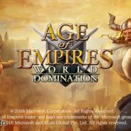 KLab、『AoE: World Domination』で初のランキングイベント「覇権争奪戦」を3月14日より開催 本日より文明&英雄強化キャンペーンを実施