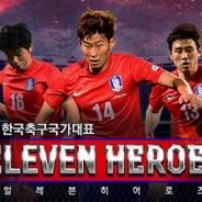 アクロディア、『韓国サッカー国家代表イレブンヒーローズ』が開始3週間で会員数20万人突破!