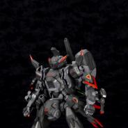 コトブキヤ、『ボーダーブレイク』より「輝星・破式」の1/35スケールプラモデルを発表!