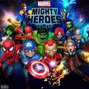DeNA、『Marvel Mighty Heroes』をリリース…最大4人によるリアルタイム協力プレイが楽しめるアクションゲーム