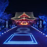 SIE、PS5発売記念で神田明神をライトアップ!