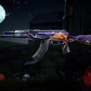 PUBG、『PUBG MOBILE』でレベルアップ銃器スキン「AKM(Magic Halloween)」が「Survivorクレート」に新登場