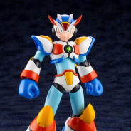 コトブキヤ、『ロックマンX3』よりマックスアーマーが初のプラモデル化! ゼロから託されたゼットセイバーが付属