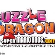 ガンホー、ニンテンドー3DS『PUZZLE & DRAGONS SUPER MARIO BROS. EDITION』の予約受付を開始 次世代WHFや闘会議に試遊台出展!