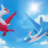 Nianticとポケモン、『ポケモンGO』で1月25日より開催予定の「レイドウィークエンド」に伝説のポケモン「ラティアス」と「ラティオス」が登場!