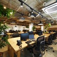 モノビット、神戸本社を増床 Dolby Atmos対応のシアターやお酒も用意したバーカウンターなど…オフィススペースはカフェをイメージ