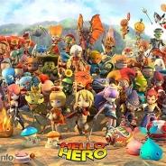 ゲームオン、『HELLO HERO』 でアップデート「英雄の凱旋」を実装 第1回ヒーローデザインコンテスト第1位のヒーローもついに登場!