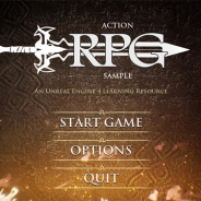 Epic Games、UEエンジン4.20をリリース 開発者必見のACT RPG「Action RPG Game Sample」も公開