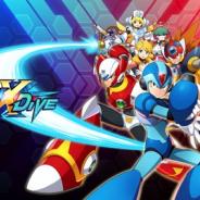 カプコン、スマホ向けロックマン『ROCKMAN X DiVE』を台湾で発表 プレイムービーも公開中!!