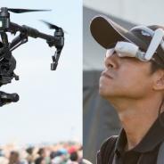 HMD×ドローンで次世代の空撮を!  「エアスカウター」を活用した空撮テクニックなど異色のワークショップが開催