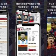 スクワッド、サッカー新聞エルゴラッソの「2018 ロシアワールドカップ選手名鑑」を無料アプリとしてリリース