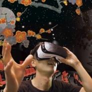 東京国立博物館と凸版印刷、シアターとHMDでVR鑑賞 300インチスクリーンとHMDを用いたパーソナル体験を融合した新たな試み