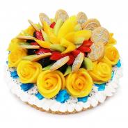 ファイブフォックス、「カフェコムサ」11店舗でcolyの『スタンドマイヒーローズ』の2周年を記念したコラボケーキを本日より販売