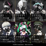 LINEとマーベラス、『千銃士』でガスマスクをつけた「現代銃」たちの全身像が明らかに! 声優陣4名のサイン色紙が当たるキャンペーンも同時開催