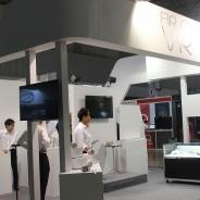 【TGS2017】H2Lブースではスマートフォン向けVRゴーグル「FIRST VR」予約受付を実施…先行体験会も好評