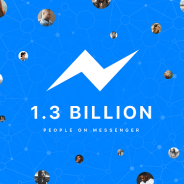 Facebook、Messengerの月間利用者数が13億人を突破!