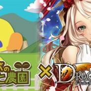 スマイルラボ、『チョコボのチョコッと農園』でマイティゲームスの『ドラゴンタクティクス』とのコラボキャンペーンを開始