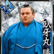 HINATA、『大相撲カード決戦』で「大相撲夏場所優勝予想」イベントを開催 予想的中でもれなく「SR[場所入り]臥牙丸」カードがもらえる