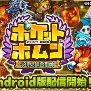 ネクシジョン、Android向けじわじわ系育成SLG『ポケットホムン~約束の錬金術師~』の提供開始