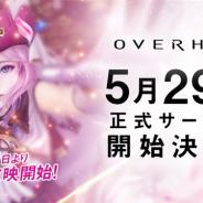 ネクソン、モバイル向け新作RPG『OVERHIT』の正式サービス開始日を5月29日に決定! 5月19日よりTVCM「スキルラッシュ」篇を放映開始
