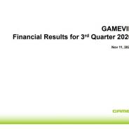 Gamevil、第3四半期は営業益55億4500万ウォン(5億2300万円)と黒字転換…『Baseball Superstars 2020』中心に野球ゲームが好調