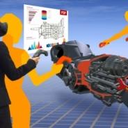 サイバネット、3DCADデータを投影し仮想空間で会議する「バーチャルデザインレビュー」最新版を発売 VR空間でデスクトップ表示も可能に