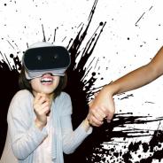 メ~テレ、8月8日から「恐怖VRアトラクション つなぐ」を開催 ペアで手をつなぎ仮想空間を体験