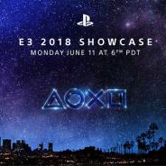 【PSVR】SIEが6月12日10時から「E3 2018 SHOWCASE」をストリーミングで配信 新作への期待が高まる