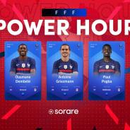 ブロックチェーンサッカーゲーム『Sorare』で仏代表グリーズマンのカードが約1270万円で落札