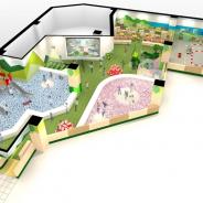 バンナムアミューズメント、地域の名所と遊びを融合した子供向け施設「別府こどもあそびめぐり」をトキハ別府店内にオープン