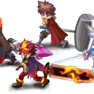 エイリムとマーベラス、『ブレイブ フロンティア』×『剣と魔法のログレス』とのコラボ企画を開始!