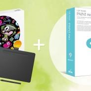 セルシスのイラスト・マンガ制作ソフト「CLIP STUDIO PAINT PRO」がペンタブレット「Wacom Intuos」にバンドル