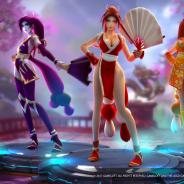 ゲームロフト、『Dark Quest Champions』にSNKの『ザ・キング・オブ・ファイターズ』の人気キャラが登場!