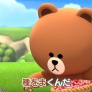 LINE初の農場ゲーム『LINEブラウンファーム』が売上ランキングで上昇中、iOS版は一時30位に 「田園」替え歌CMが好評、ウェルカムパックも好調