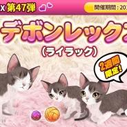 ESTgames、『マイにゃんカフェ』で新種猫が登場する期間限定ガチャ第47弾を開催 下北沢の猫カフェ「Cateriam」店とのコラボイベントも実施