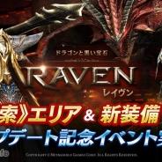 Netmarble Games、『レイヴン(RAVEN)』で新《探索》エリアや新装備などが追加されるアップデートを実施 アップデート記念イベントも開催