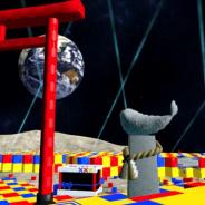 クラスター、大晦日から世界初の 「バーチャル初詣」を開催 「輝夜 月 LIVE@Zepp VR 」の会場「Beyond the Moon」を正月仕様に