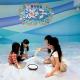 バンナムアミューズメント、屋内砂浜「海の子」を導入した九州初となる「あそびパーク PLUS マークイズ福岡ももち店」を21日にオープン!