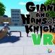 ポリゴンマジック、ストレス共感発散系ショートCGムービー『GIANT AND HANSODE KNIGHT』のVR360度のオリジナルバージョンを公開
