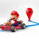 マリオとGoogleマップが期間限定でコラボ ナビの開始でマリオカートが道案内