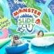 ミクシィXFLAGスタジオがウォーターフェス「Slide the City」とコラボ…「MONSTER Slide the City」を8月4日よりお台場で開催!