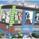 フォワードワークス、『ソラとウミのアイダ』ラッピングバスが登場 千光寺山頂(広島県尾道市)には記念写真撮影用パネルを設置